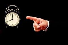 Tempo per il concetto del lavoro Immagine Stock