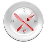 Tempo per la dieta. Fotografia Stock Libera da Diritti