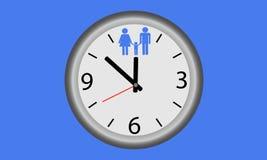 Tempo per la famiglia Fotografie Stock
