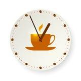 Tempo per la pausa caffè Fotografia Stock