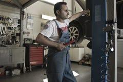 Tempo per servizio e manutenzione Fotografia Stock