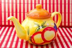 Tempo per tè saporito Fotografia Stock Libera da Diritti