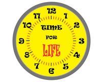 Tempo per vita Immagini Stock Libere da Diritti