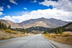 Tempo piovoso in Colorado fotografia stock