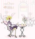 Tempo Prissy do chá Imagem de Stock Royalty Free