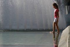 Tempo quente Europa Foto de Stock Royalty Free