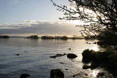 Tempo quieto no Lough Derg Imagens de Stock Royalty Free