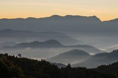 Tempo Smoggy Fotografie Stock Libere da Diritti