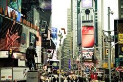 Tempo Squre, NYC Immagini Stock