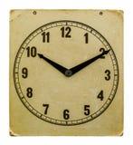 Tempo sul vecchio orologio di parete dieci ore dieci minuti Immagini Stock