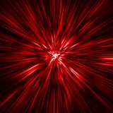 Tempo-túnel vermelho ilustração stock