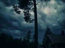 Tempo tempestoso Fotografia Stock Libera da Diritti