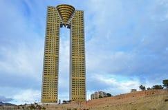 The In Tempo Tower Benidorm Stock Photos