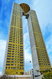 In Tempo Tower Benidorm - High Rise Building Stock Photo