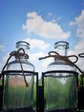Tempo in una bottiglia fotografie stock