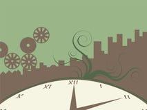 Tempo urbano Imagem de Stock