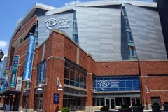 Tempo Warner Cable Arena immagine stock libera da diritti