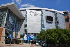 Tempo Warner Cable Arena immagini stock
