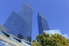 Tempo Warner Center em New York City Foto de Stock