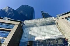 Tempo Warner Center - New York Fotografia Stock Libera da Diritti