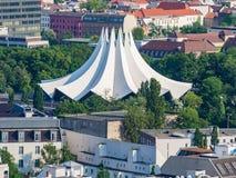 Tempodrom от верхней части в Берлине Стоковая Фотография RF