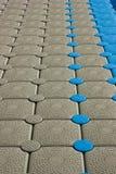 Temporärer Fußboden Stockfoto