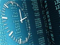 Temporärer Zeitplan Lizenzfreies Stockfoto