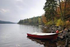 Temporada de pesca del otoño Imagen de archivo libre de regalías
