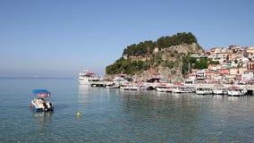 Temporada de verão de Parga Grécia vídeos de arquivo