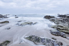 Temporal on the beach Royalty Free Stock Photography