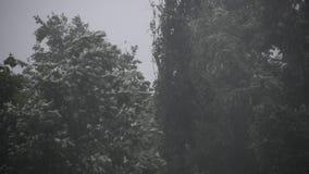 Temporal do Condado de Harrison na exploração agrícola vídeos de arquivo