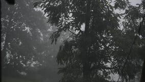 Temporal do Condado de Harrison na exploração agrícola video estoque