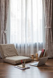 Temporary area for study at home Stock Images