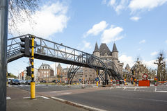 An Temporary bridge Royalty Free Stock Photography