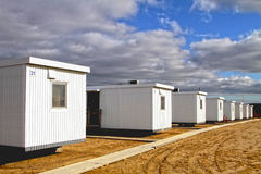 Temporary housing Royalty Free Stock Images