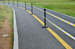 Temporary road isolation Royalty Free Stock Photography