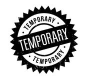 Temporary rubber stamp Stock Image