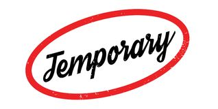 Temporary rubber stamp Stock Photography