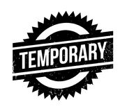 Temporary rubber stamp Stock Photos