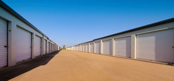 Temporary storage facility Royalty Free Stock Photo