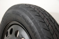 Temporary tyre 2 Royalty Free Stock Photos