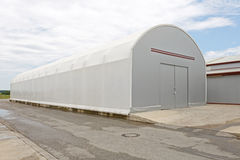 Temporary Warehouse Stock Images