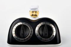 Temporizador da cozinha do cozinheiro chefe mestre Imagens de Stock