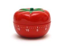 Temporizador del tomate fotos de archivo libres de regalías