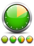 Temporizador - tiempo fácil del cambio todos minuto stock de ilustración