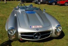 Temporizzatore anziano Mercedes 300 sls fotografia stock