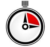 Temporizzatore, cronometro, vettore di concetto di tempo Immagine Stock Libera da Diritti