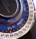 Temporizzatore di musica - metronomo Fotografia Stock