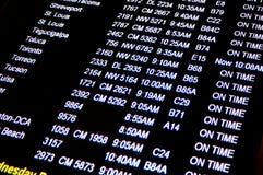 Tempos de vôo Foto de Stock
