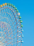 Tempozan Ferris Wheel royalty free stock image